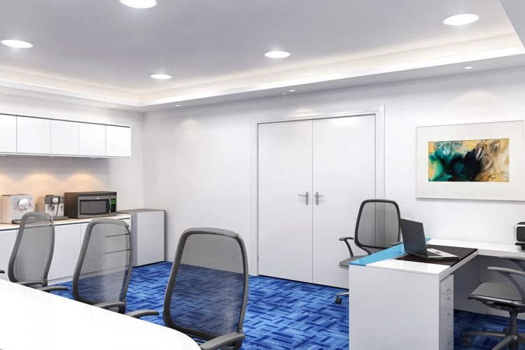 ID & Fitout Works- Khazna CEO VIP Office, Meeting Room and Service Area