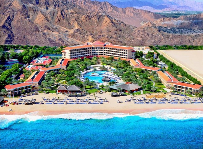 5-Star Fujairah Rotana Resort & Spa. MEP Works Fitout and Upgrade