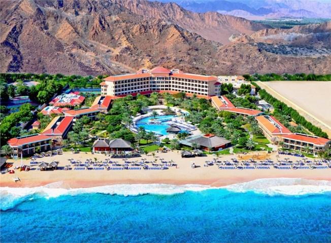 5-Star Fujairah Rotana Resort & Spa. MEP Works Fitout and Upgrade